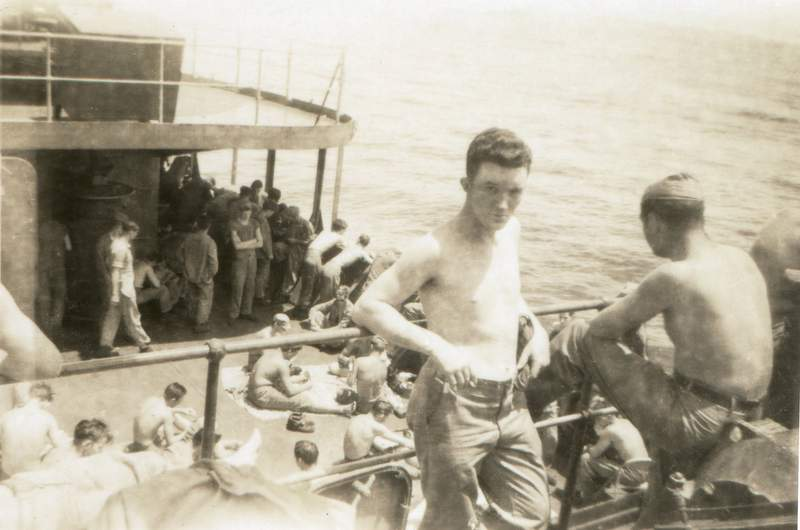 Boat to America, 1946