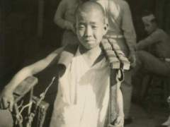 Shoe Shine, Tientsin, 1946